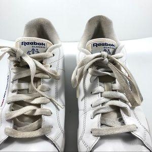 Reebok Shoes - Men's Classic Reebox White Sz 7.5 Vintage Retro